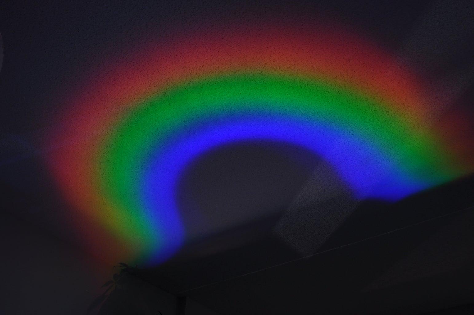 Making Rainbows!
