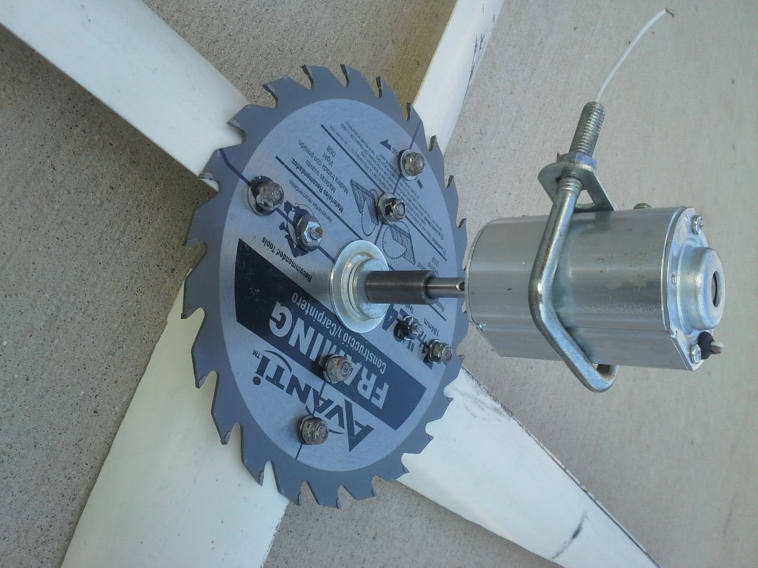 The Motor, Shaft, Pillow Block Bearing and Hub