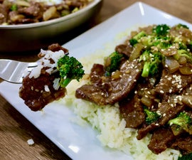 How to Make Beef and Broccoli Stir Fry | EASY One Pot Meal
