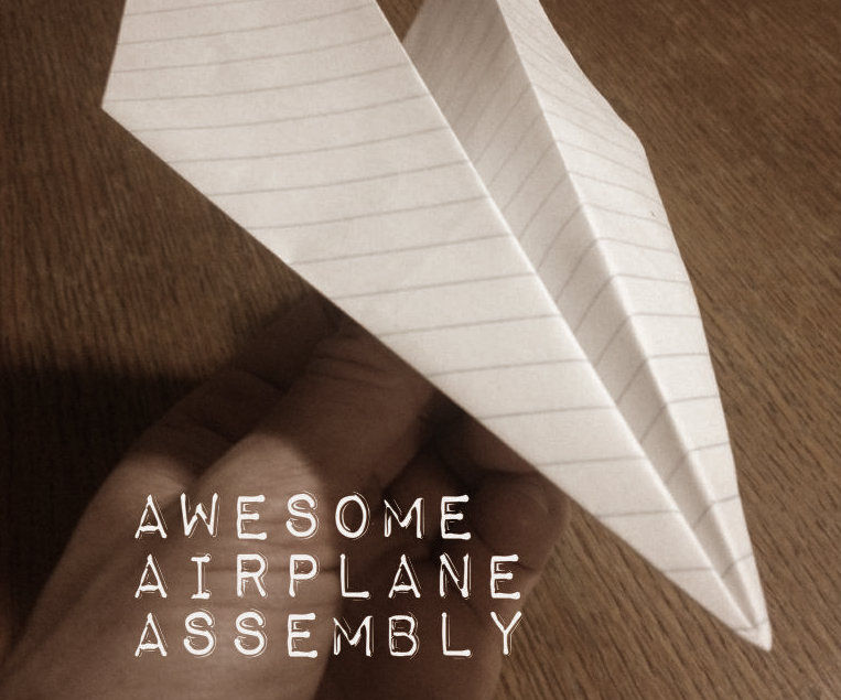 Best Paper Airplane... EVER!