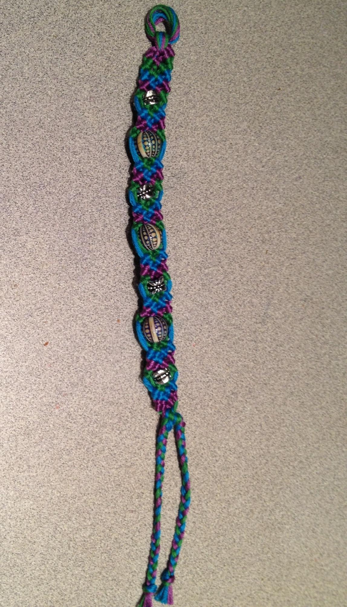 Beads And Knots Friendship Bracelet