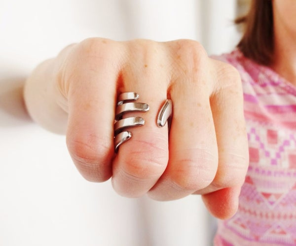 Gripping Hand Ring (from a Fork)