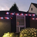 Permanent Digital LED House Holiday Lighting V2