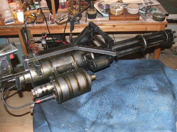 Make a Prop M134 Minigun (from Junk)