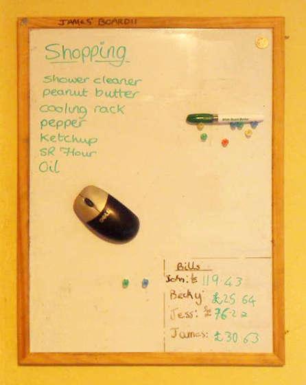 Magnetic Mouse Whiteboard Eraser