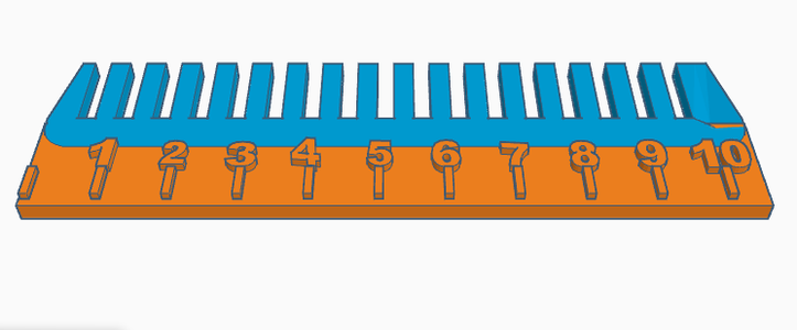 Ruler With Comb