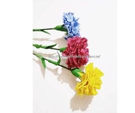 Clay Carnation Flower