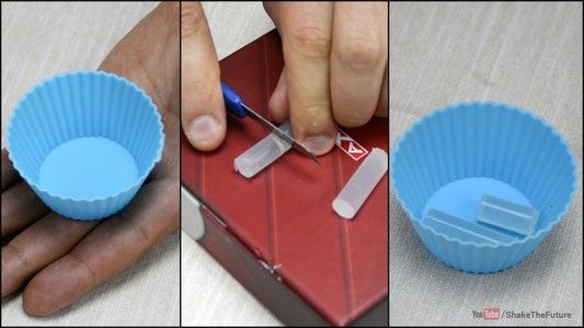 Fridge Magnet From a Glue Stick