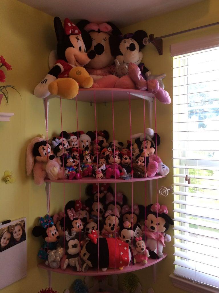 Stuffed Animal Storage Shelves