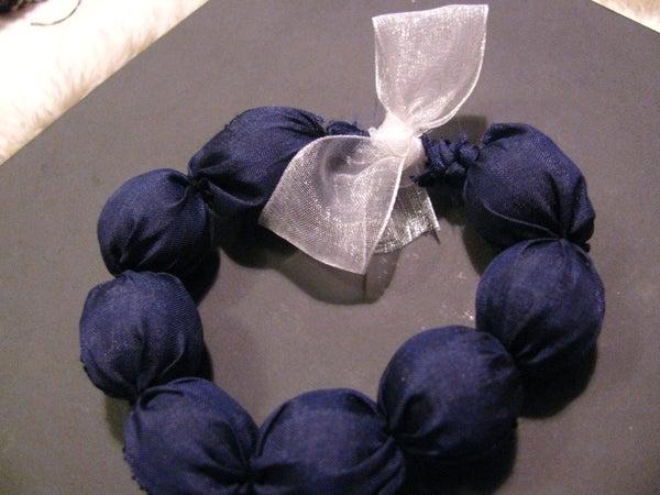 Heartwarming Fabric Bracelet