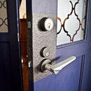 Faux Door Knob Backplate!