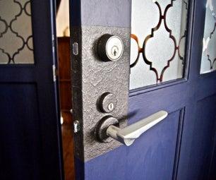 Faux Door Knob Backplate!