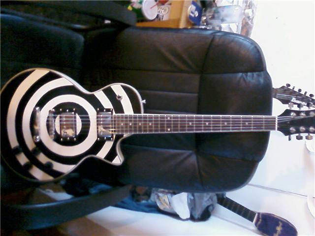 How to make a Zakk Wylde Bulls-eye style guitar