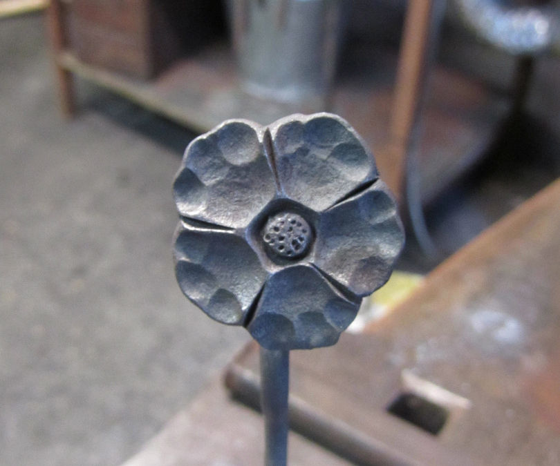forged flower