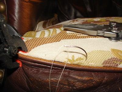Start Stitching Around Edges