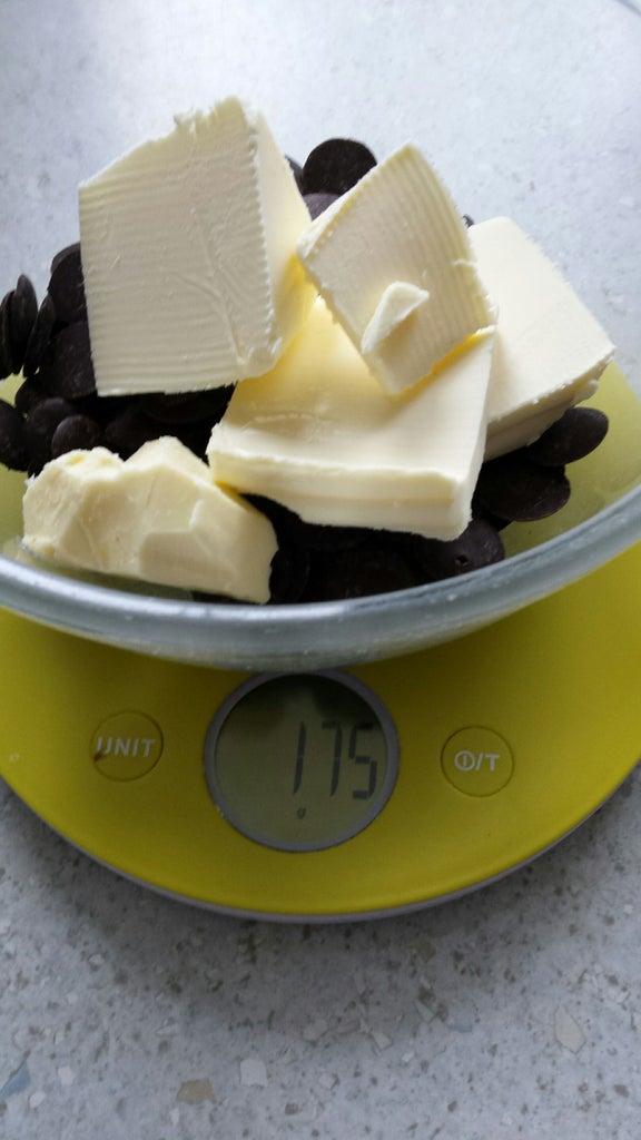 Add 175g of Butter.