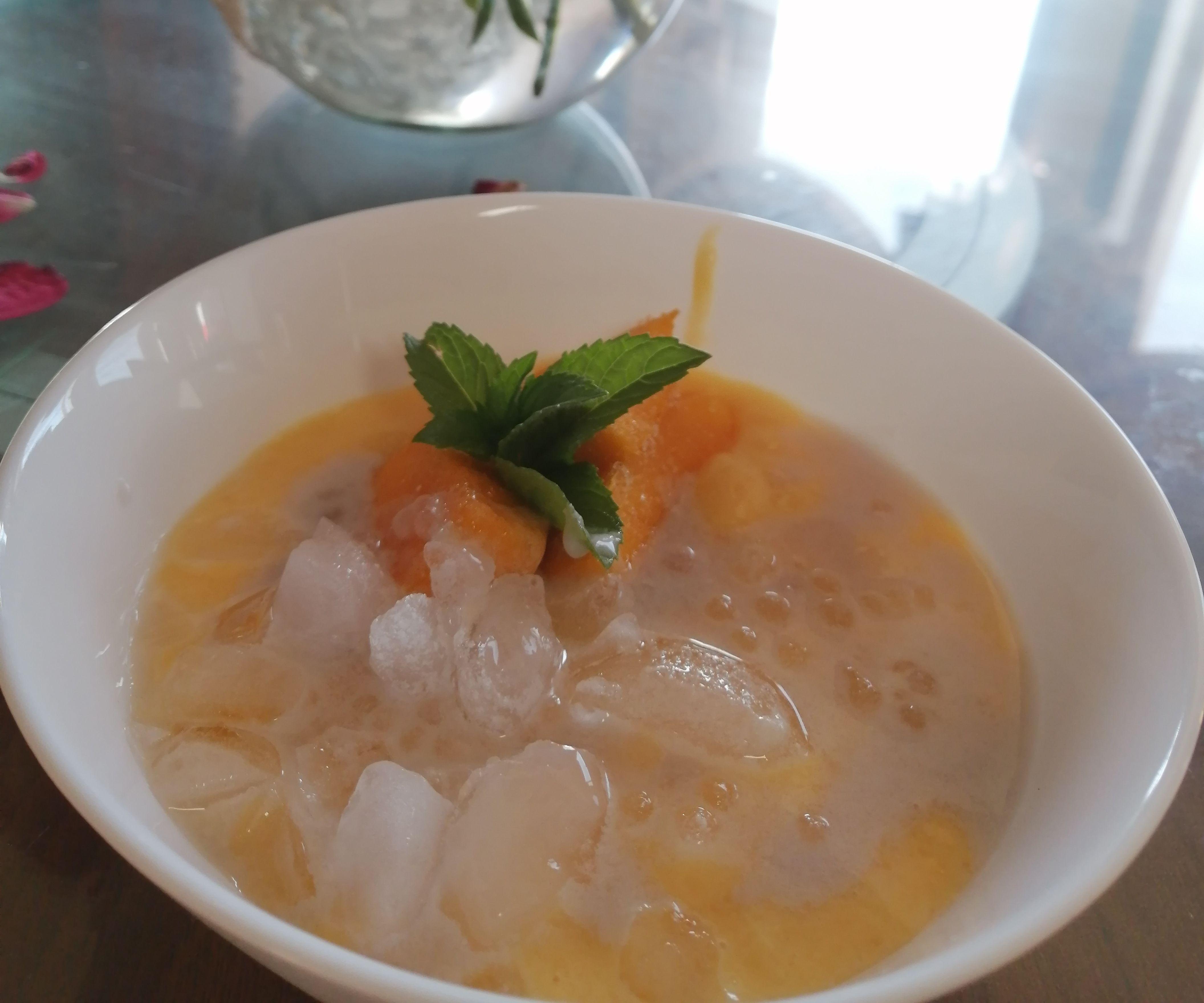 Sticky Rice Sorbet / Smoothie