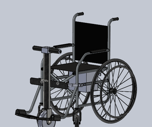 Chair Force One - Wheelchair Retrofit Kit