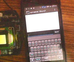 LCD Display Board Using Linkit ONE and Bluetooth