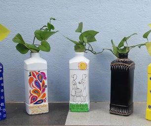 DIY植物和花瓶⚱
