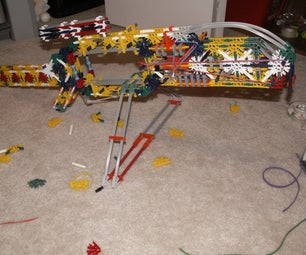 Bipod for the Knex Bolt Action XM8 Sniper Rifle