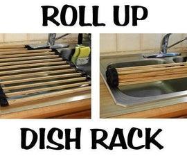 Roll Up Dish Rack