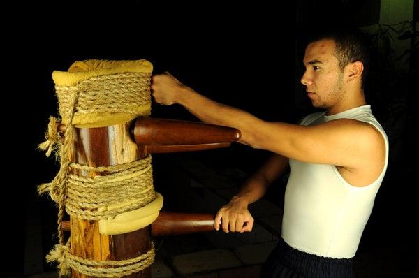 Wooden Wing Chun Dummy