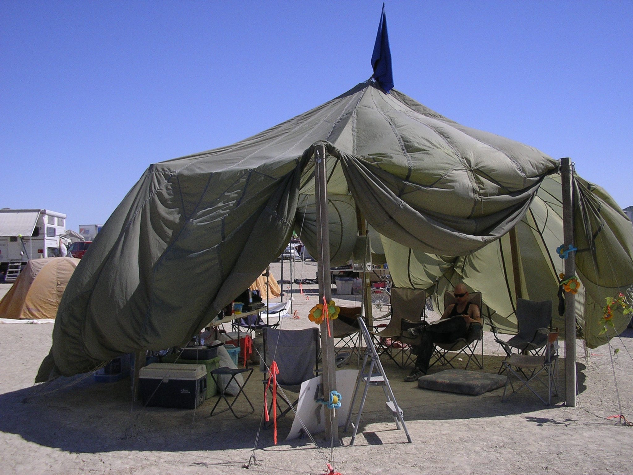 Parachute Shade Structure