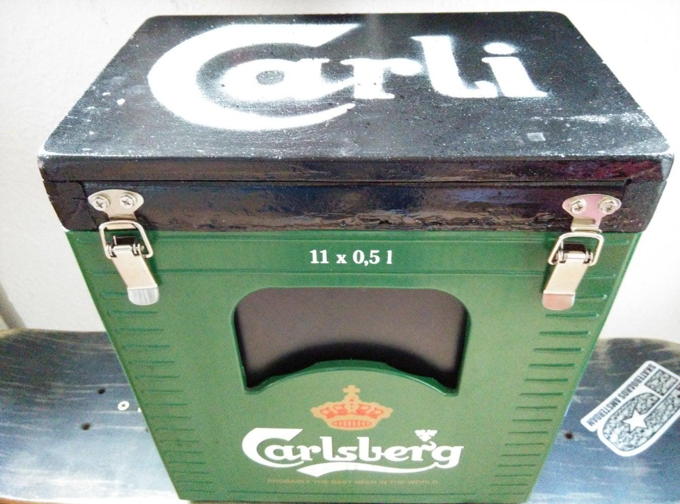 Beer Crate Boombox