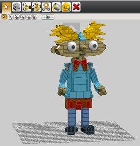 LEGO Digital Designer & Parts List