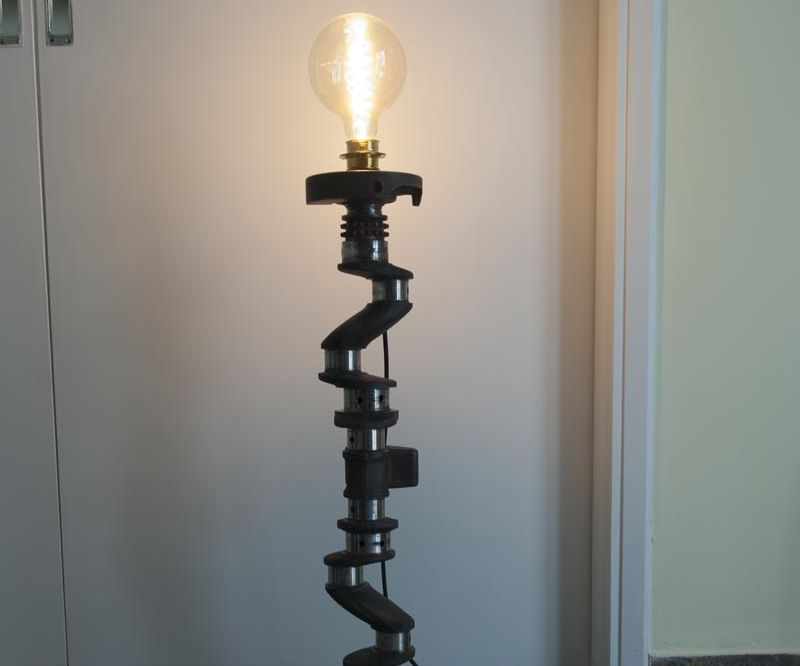 Crankshaft vintage lamp