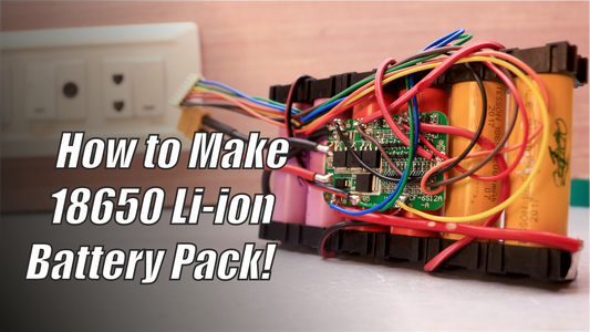 How to Make a 18650 Li-ion Battery Pack!