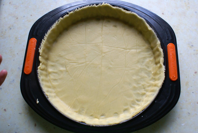 Line the Pie Pan