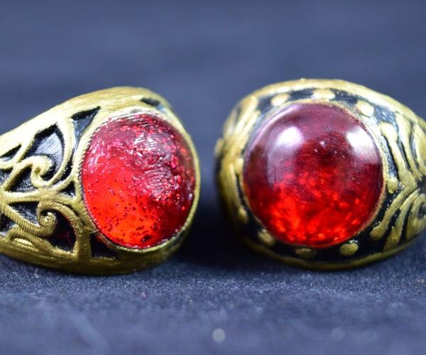 3d Print Gemstone Ring