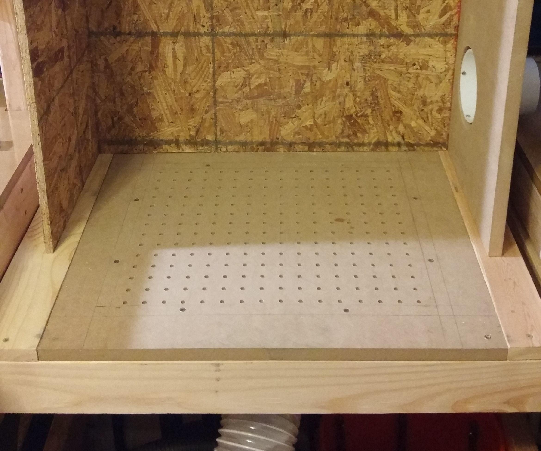 Downdraft Table Workbench
