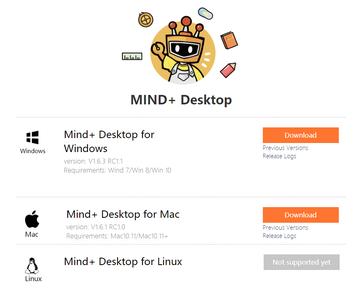 Download Mind+ Desktop