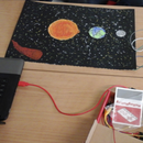 Sun, Earth and Moon: a Journey in the Solar System with Makey Makey