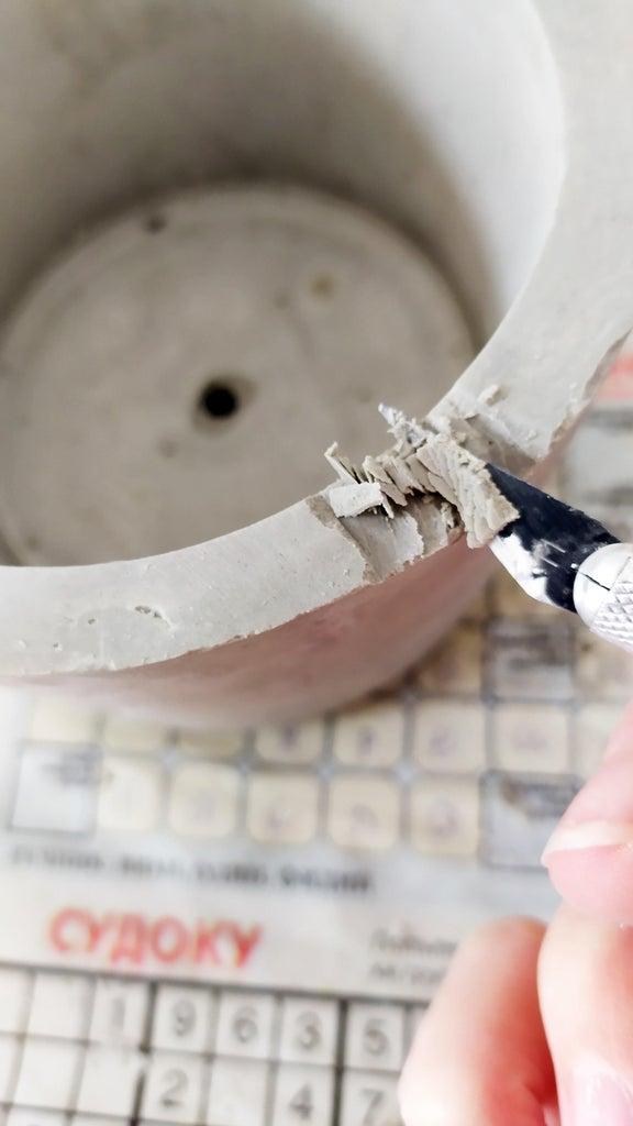 Cutting the Geode Shape