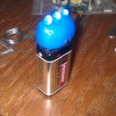 Simple LED 9 Volt Battery Flash Light
