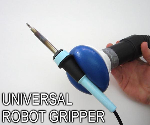 DIY Universal Robot Gripper