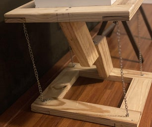 Floating Tensegrity Table
