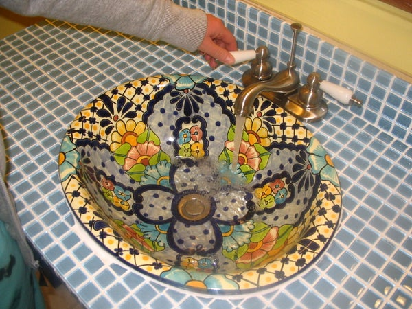 Installing Your Own Mexican Sink