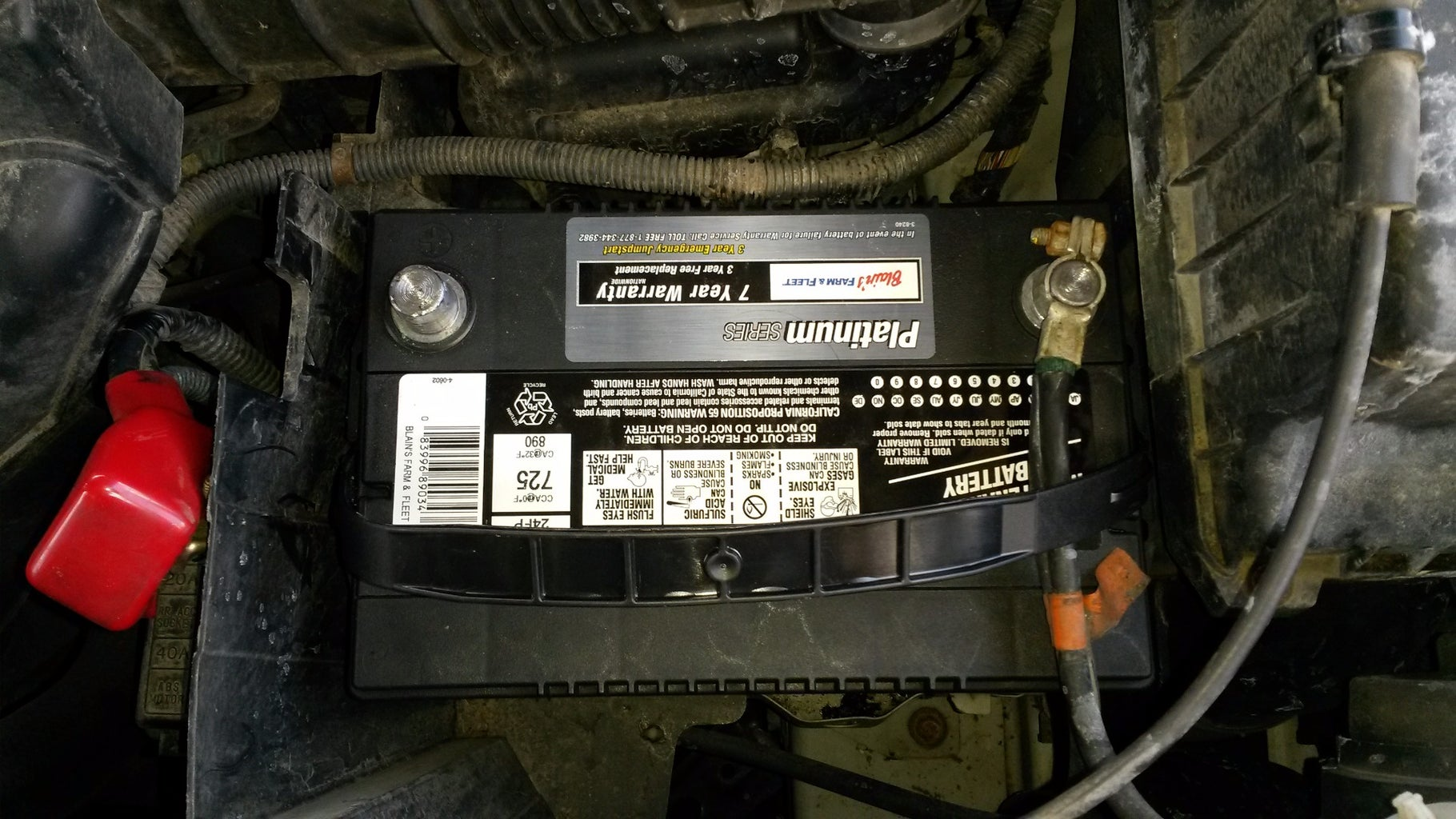 Last Step - Hook Up the Battery