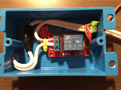 Connect Wires to the Relay Board