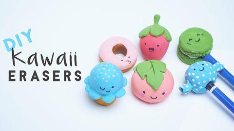Kawaii Japanese Food Erasers