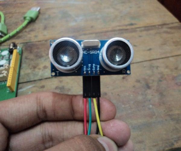 Sensor Tutorial HC-SR04 Linkit One