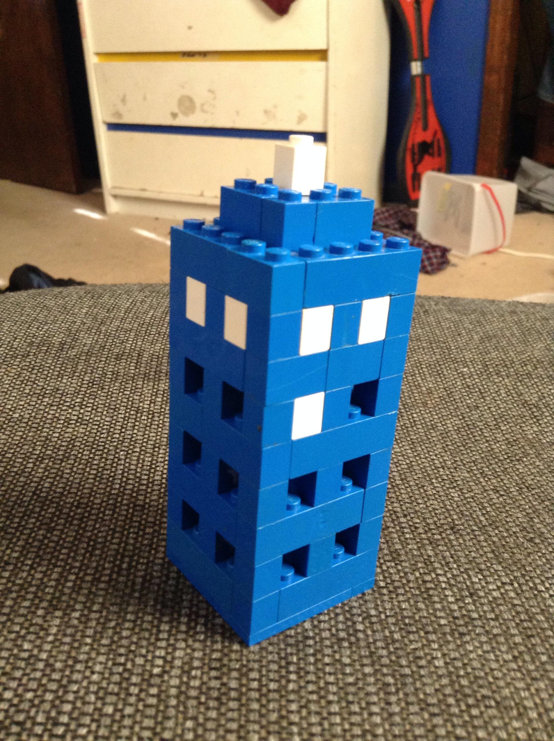 3D Lego Tardis