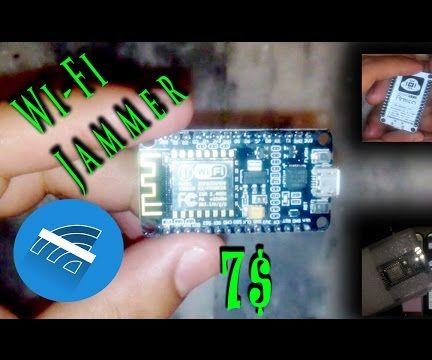 Make Portable WiFi Jammer