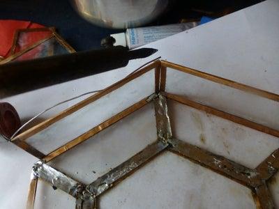 Solder the Rectangular Pieces