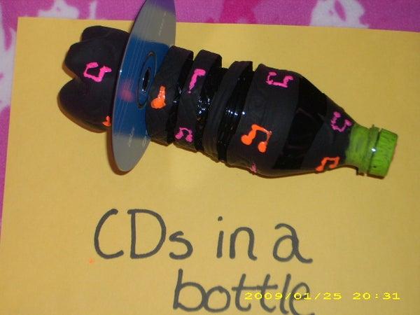 CDs in a Bottle